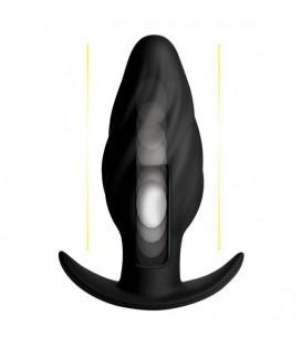 Kinetic Thumping 7X Swirled Plug Anal