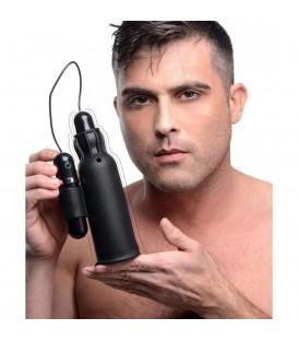 Lightning Masturbador Vibrador de Silicona Master Series