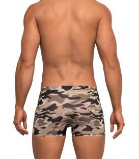 Commando Mini Short boxer de camuflaje