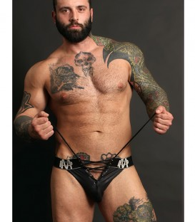Male Power Ice Lace Up Suspensorio