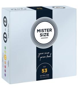 Mister Size 53 mm Preservativos Extra Finos