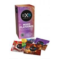 EXS Mix Preservativos Sabores Pack 12