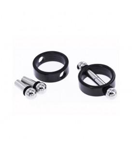 Pinzas Magnéticas para Pezones Ze Pincher Negro