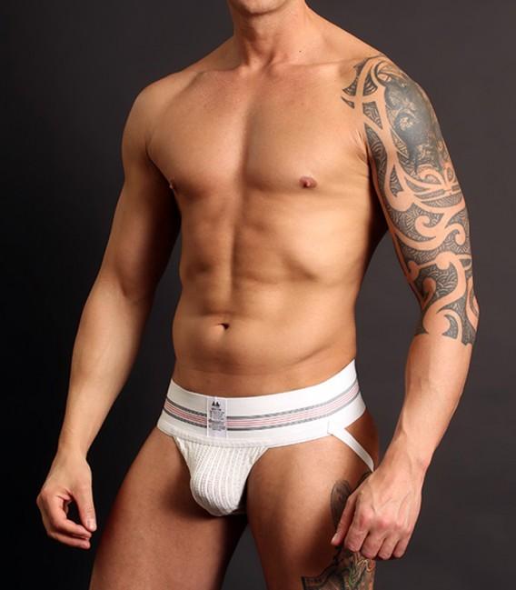 MM Jock Suspensorio Clasico cintura 7,5 cm Blanco