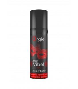 Orgie Sexy Vibe! Hot Vibrador Líquido 15 ml