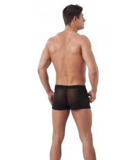 Shorts Negros Transparentes