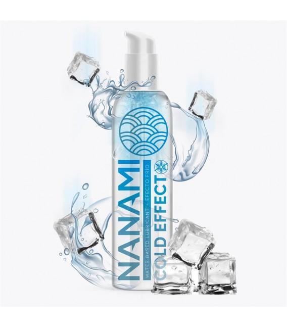 Lubricante Base de Agua Efecto Frío 150ml Nanami