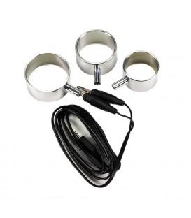 Electro Sex 3 Anillos de Aluminio Uni-Polar
