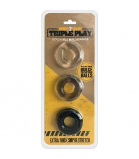 Triple Play Pack 3 Anillos TPE