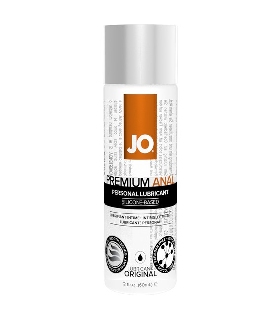 JO Lubricante Anal Premium a base de silicona sin olor Mastersex