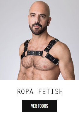 Ropa fetichista y sexy para hombre en tu sexshop gay y BDSM online