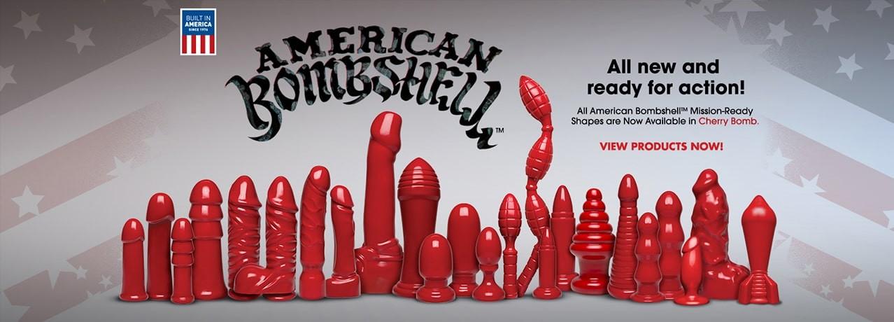 American Bombshell Dildos y plugs tamaño XXL de Doc Johnson