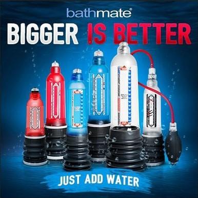 Comprar Bathmate Bombas para agrandar el pene