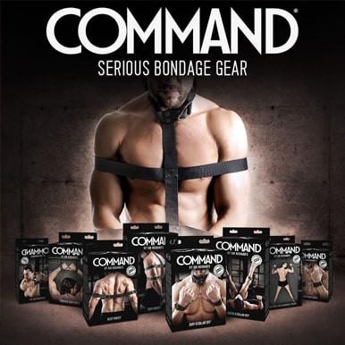 Command artículos Bondage de calidad para hombres