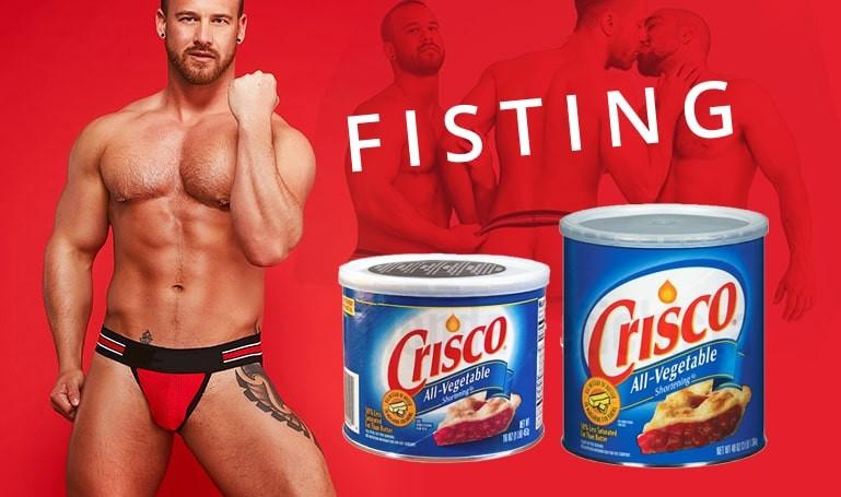 Crisco Lubricante grasa vegetal para Fisting- sexshop gay BDSM