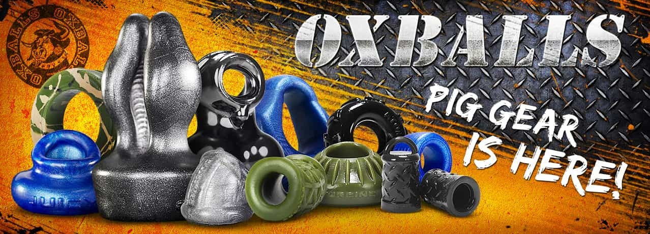 Oxballs anillos de pene, cockrings y ballstretchers para gays