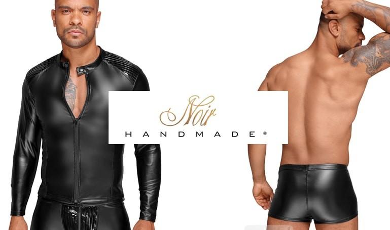 Noir Handmade ropa fetichista para hombre en tu sexshop gay